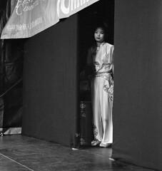 Chinese New Year 1 (*monz*) Tags: leica portrait bw woman film 50mm iso400 candid trix grain rangefinder chinesenewyear cny rodinal 2008 grainisgood summilux m6 75mm monz yearoftherat