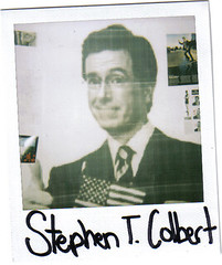 stephen colbert in the form of a polaroid (sheilawesome) Tags: wall america corner polaroid room awesome patriotic rasterbation stephencolbert thecolbertreport