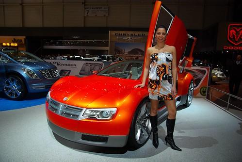 Новый концепт-кар от Dodge 2008 женева
