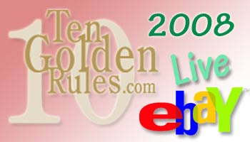 eBay Live Ten Golden Rules