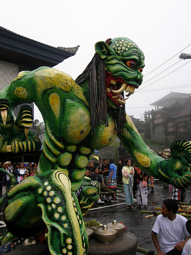 Nyepi (New Years) Eve Festivities