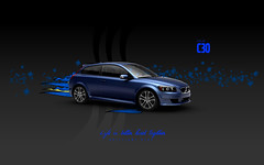 Brilliant Blue Volvo c30 (Gui Rio) Tags: desktop blue wallpaper illustration gteborg volvo sweden gothenburg sverige gotland brilliant svenska gotheborg volvoc30 brilliantblue volvoc30wallpaper volvoc30wallpapers volvoc30desktopwallpaper c30wallpaper c30wallpapers