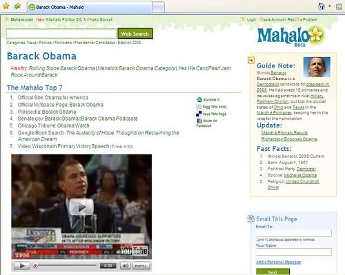 Barack Obama - mahalo