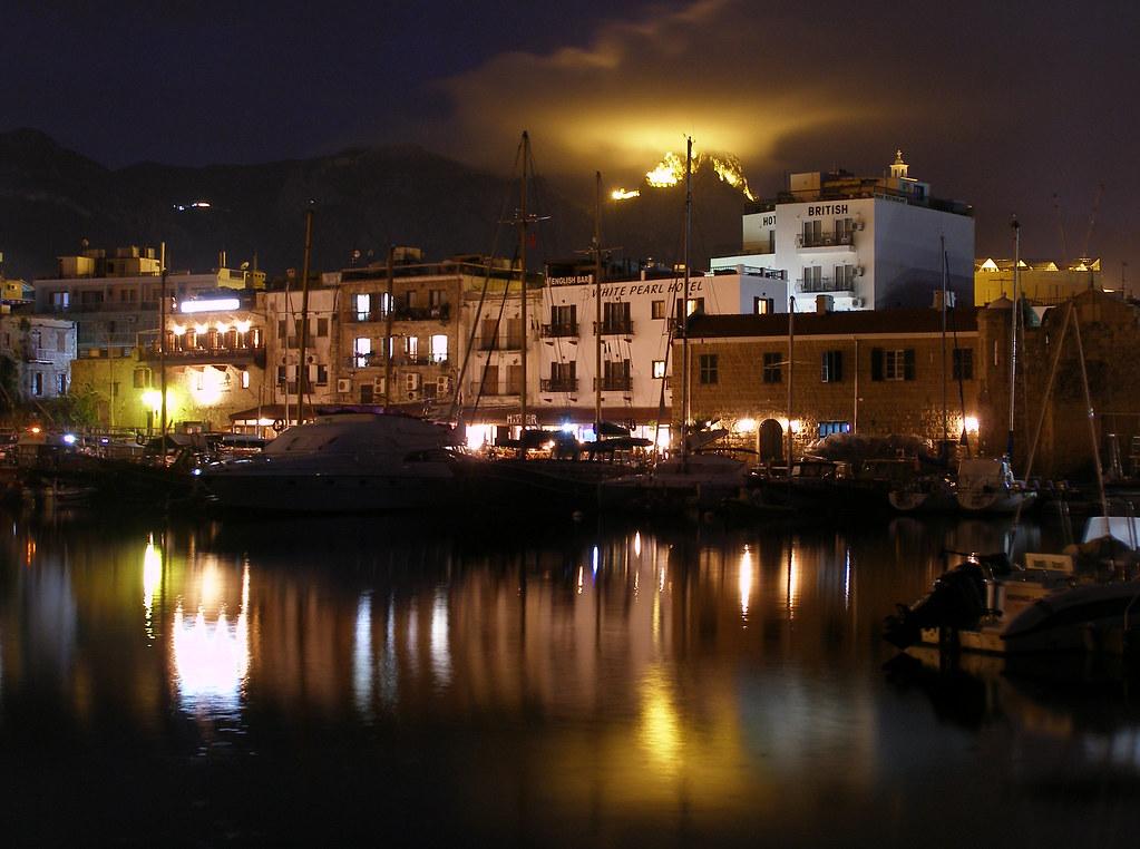 Girne / Kyrenia (North Cyprus) - Another Night Shot