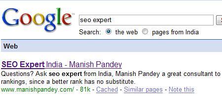 Seo expert manish
