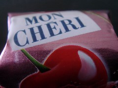 Je t'aime mon cheri!! (redhotblackcherry) Tags: pink red catchycolors cherry chocolate