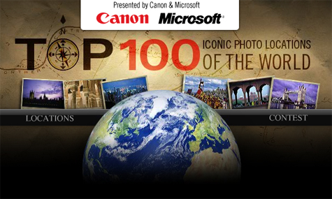 Top 100 Iconic Photo Locations