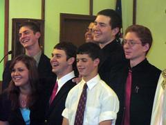 Calvin's Graduation Class with ARCHE