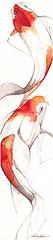 koi053008 (Jennifer Kraska) Tags: pen watercolor jennifer koi kraska