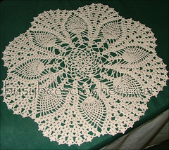 Pineapple Fan Doily