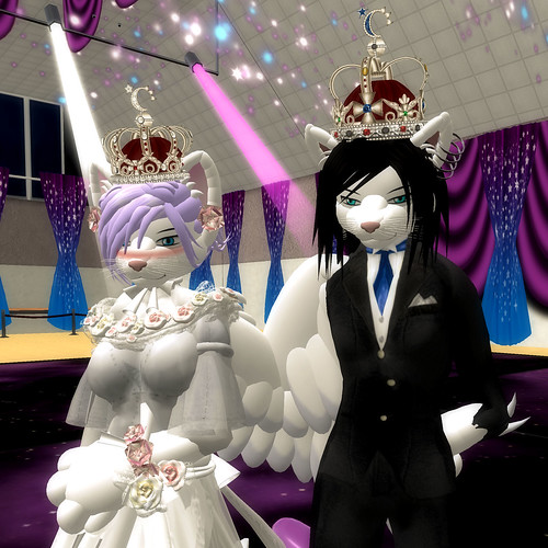 L$335k Alienbear's King & Queen Crown_RFL_02!!