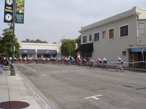 Burlingame bike race