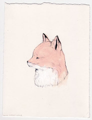 Fox (Sarah McNeil) Tags: art animal illustration paint drawing exhibition fox