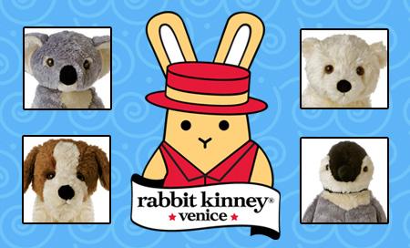 Rabbit Kinney Plush toys