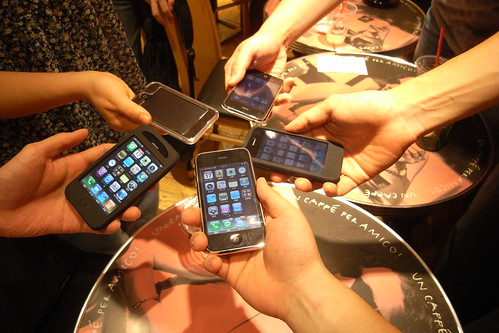 5 iPhone 3G - iPhone shakes