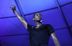 usher in africa talking about black power