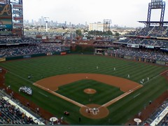 Citizens Bank Park, in daylight during warmups