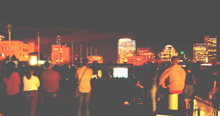 Rooftop Movies in Portland, Hotel deLuxe