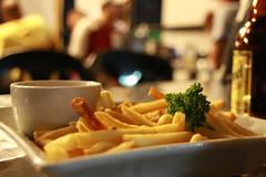 Fries, anyone? (Princess K8<enjoying Mommyhood>) Tags: food bokeh frenchfries fabulous dip pulutan teampilipinas toniosgrill pkbs