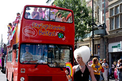 Belfast Pride 2008, a CC photo by a Flickr user peripathetic