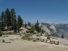 On top of the Glacier Point, Yosemite Photo