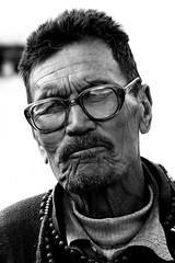 Taking a break. Man portrait, Ladakh, India (E. B. Sylvester) Tags: portrait bw india man pride himalaya ladakh inde ebsylvester
