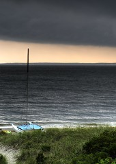 Mattatuck storm (nosha) Tags: storm beach nature beauty sailboat 50mm nikon sail d300 niftyfifty mattatuck
