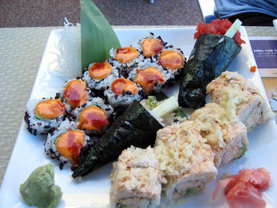 Sushi at Edo (Click to enlarge)