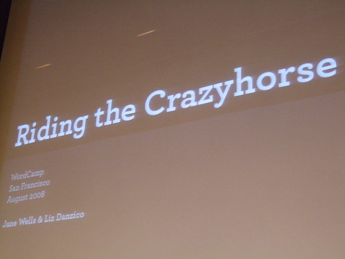 Riding the Crazyhorse