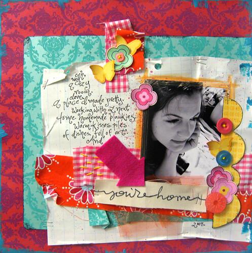 You're Home - Red Velvet August Kit
