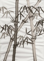 Another Bamboo Painting...