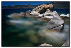 Emerging from the Lake (PrevailingConditions) Tags: longexposure lake water rocks slow tahoe laketahoe layered