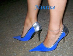 Blue - silver pumps 7 (Kwnstantina) Tags: sexy feet female fetish silver greek foot women toes pumps highheels legs sandals arches stiletto soles footfetish anklet sexylegs stileto stilletto sexyshoes heeled higharches feale highheeledpumps highheelspumps  womaninspikeheels bleustilletto