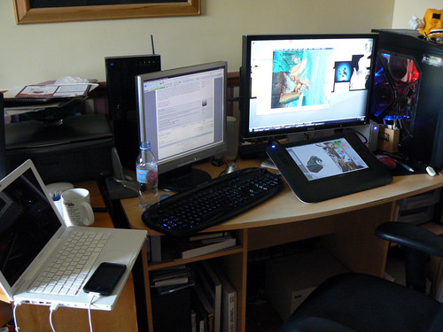 Home/Work set up