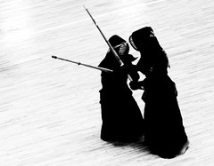 Kendo fight