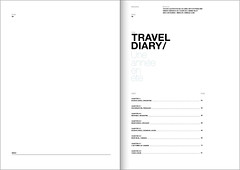 Travel Diary / index ([GW] GrafikWar) Tags: grid buenosaires montreal traveldiary graficdesign fromfrance grafikwar