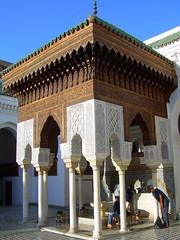 inside the qarawiyin mosque (skysa) Tags: architecture muslim culture mosque morocco maroc fes qarawiyin