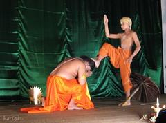 Vamana and Mahabali. (Krish | ) Tags: ladies festival dance traditional performance culture kerala onam maveli boatrace mahabali vamana vallamkali thiruvathira