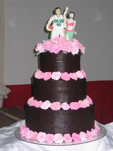 Chocolate Fudge Wedding Cake A Photo On Flickriver - Fudge Wedding Cake