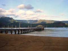 Hanalei Bay (Das Joe) Tags: beach pier kauai hanaleibay