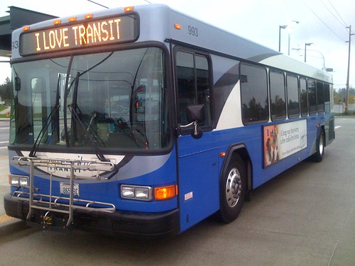 Intercity Transit Bus, by majinandoru