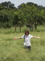 Nils im hohen Gras
