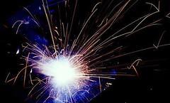 blue coloured sparkler (EpicFireworks) Tags: fireworks pyro 13g loud pyrotechnics sib epicfireworks
