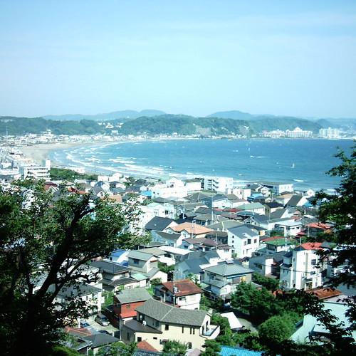 Ocean view  [ Hase-dera / Kamakura ]