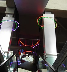 Hula Hoops (~ Blu ~) Tags: mall neon blu coquitlam guessed guesswherevancouver pointknightmusik