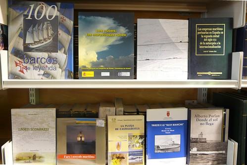Biblioteca del Museu Marítim de Barcelona. Novetats setembre 2008