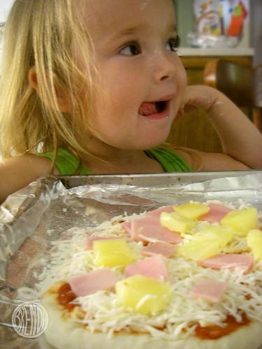 we like ham and pineapple