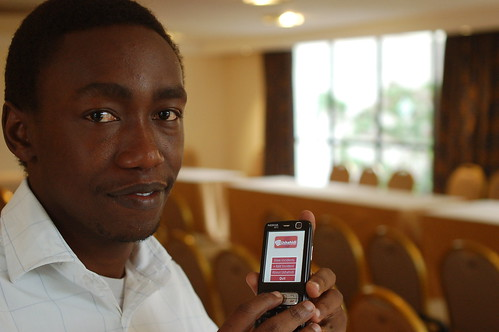 Steve Mutinda and his Ushahidi Java app