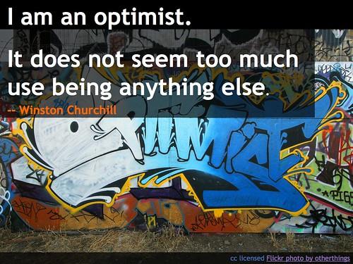 I Am an Optimist
