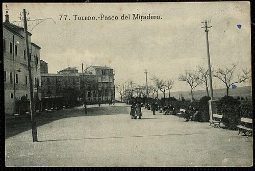 Paseo del Miradero (Toledo). Foto Grafos 1923
